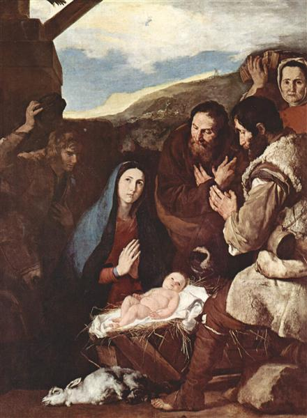 Adoration of the Shepherds, 1650 - Jusepe de Ribera
