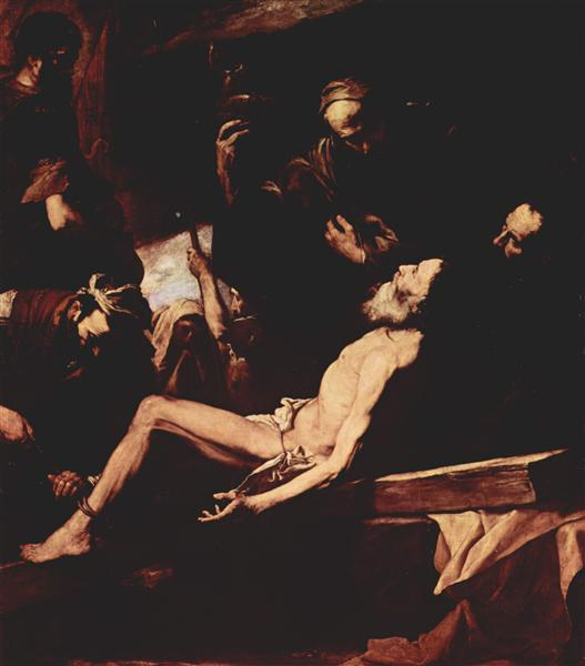 The Martyrdom of St. Andrew, 1628 - Jusepe de Ribera