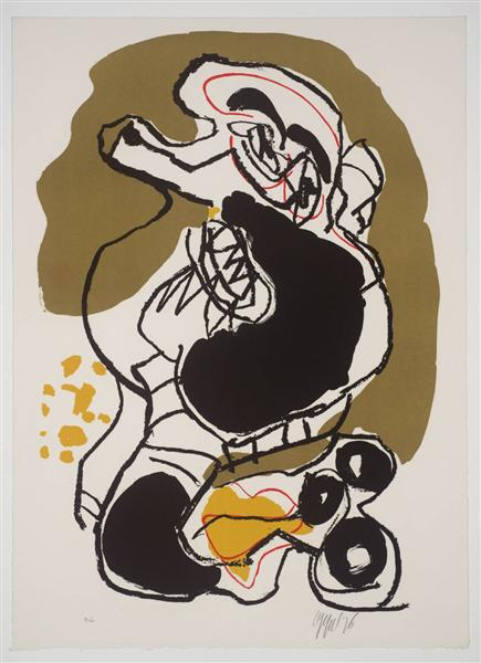 Untitled (from For Jorn), 1976 - Karel Appel
