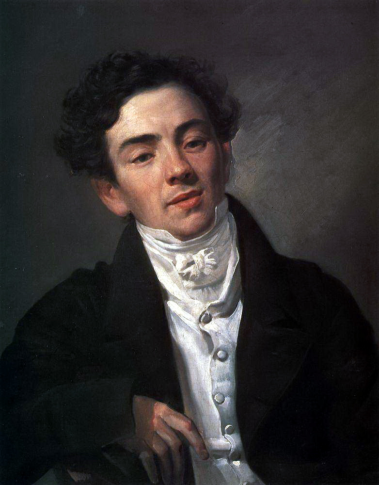 Portrait of the Actor A. N. Ramazanov, 1821