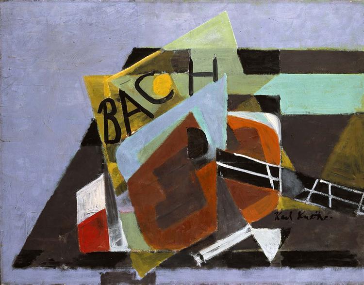 Bach, 1953 - Karl Knaths