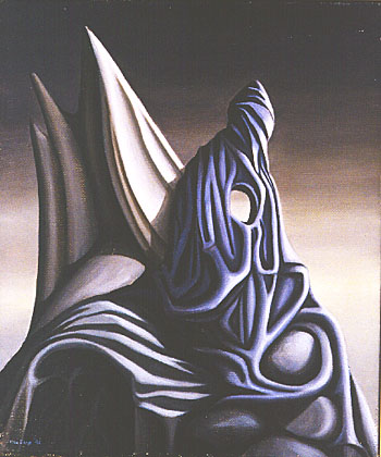 Margin of Silence, 1942 - Kay Sage