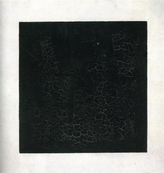 Black Suprematistic Square, 1915 - Kazimir Malevich