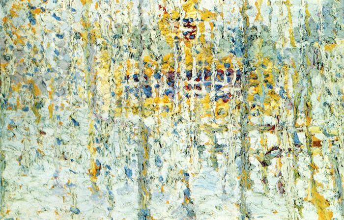 Landscape with Yellow House - Kazimir Malevich