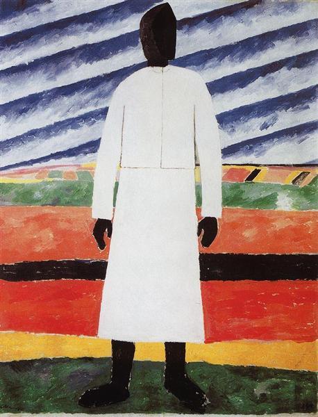Peasant Woman, 1930 - Kazimir Malevich