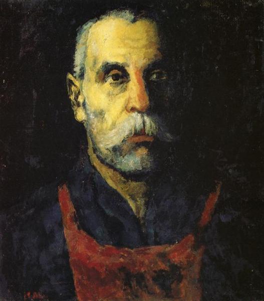 Portrait of a Man, 1930 - Kazimir Malevich