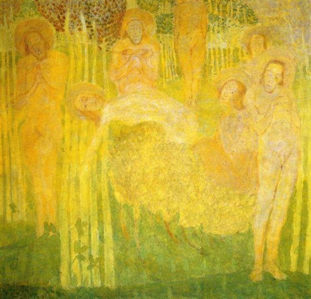 Sketch for fresco - Kazimir Malevich