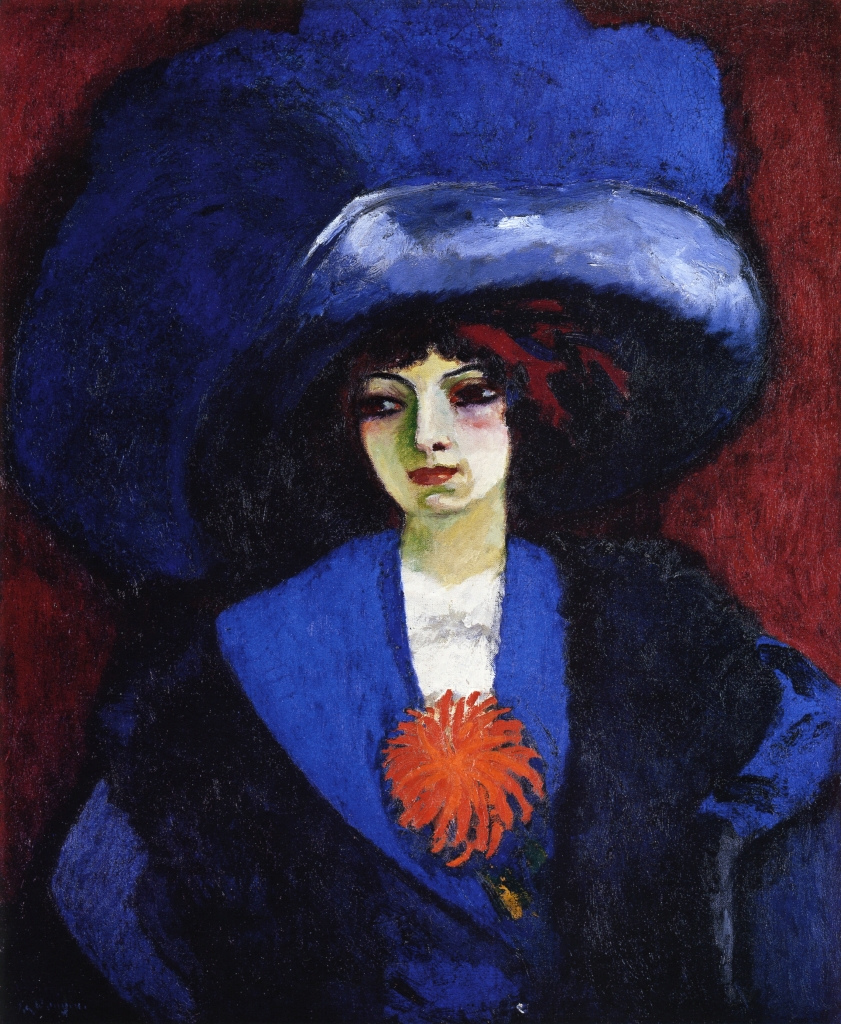 Kees van Dongen - Page 4 Woman-with-blue-hat-1912