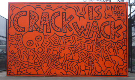 Crack is wack keith haring encyclopedia for Crack is wack keith haring mural