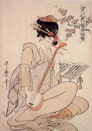Flowers Of Edo - Kitagawa Utamaro
