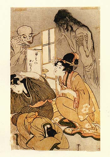 One Hundred Stories of Demons and Spirits - Kitagawa Utamaro