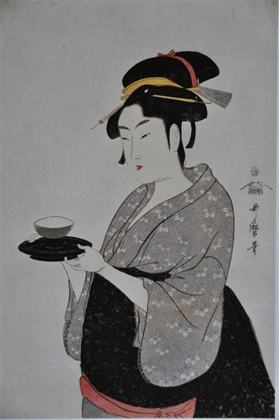 Portrait of Naniwaya Okita, 1793 - Kitagawa Utamaro
