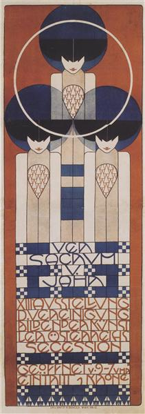 Poster for the XIII. Secession, 1902 - Koloman Moser