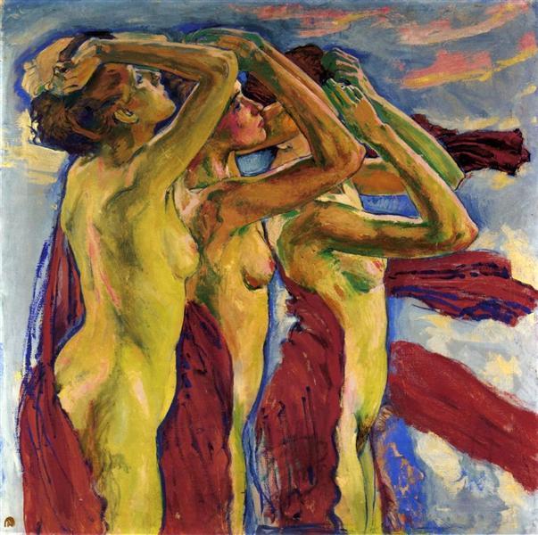 The Three Graces - Koloman Moser