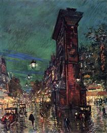 Paris. Saint Denis Arc - Konstantin Alexejewitsch Korowin