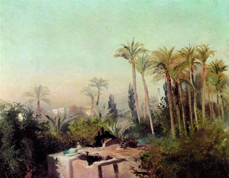Irrigation in Egypt, c.1870 - Konstantin Makovsky