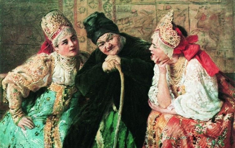Matchmaker, c.1900 - Konstantin Makovsky