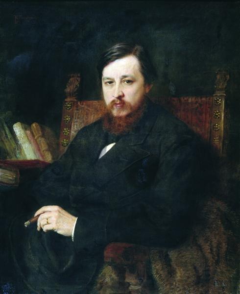 Mikhail Azanchevsky, 1877 - Konstantin Makovsky