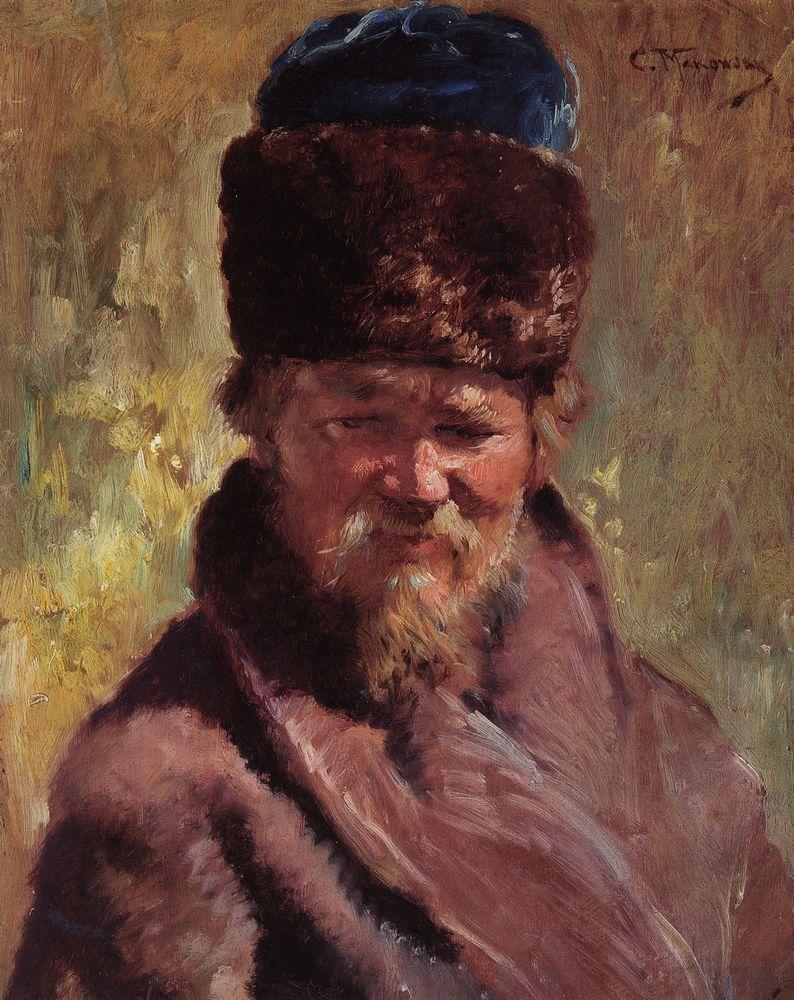 Konstantin Makovsky Portrait-14