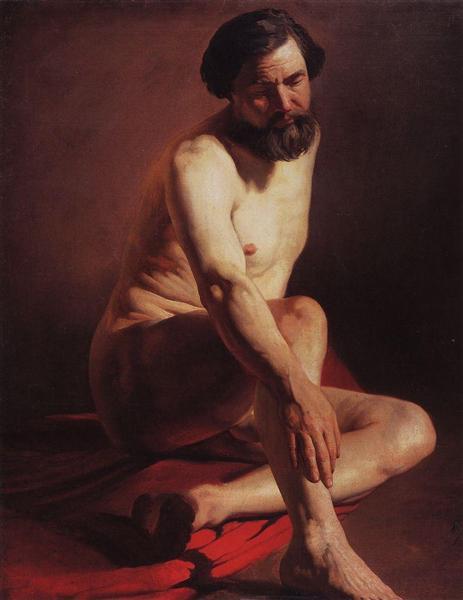 Portrait - Konstantin Jegorowitsch Makowski