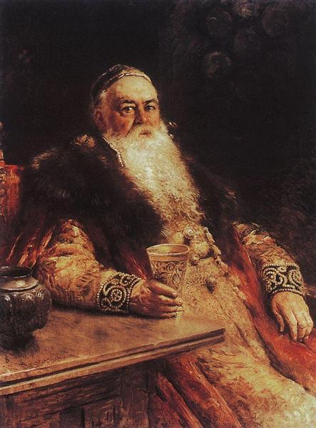 Portrait - Konstantin Makovsky