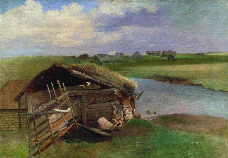 Summer Day, c.1870 - Konstantin Makovsky