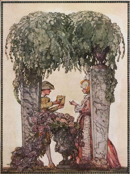 Gardener Gift, 1914 - Костянтин Сомов