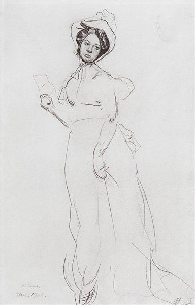 Lady, 1902 - Konstantin Somov