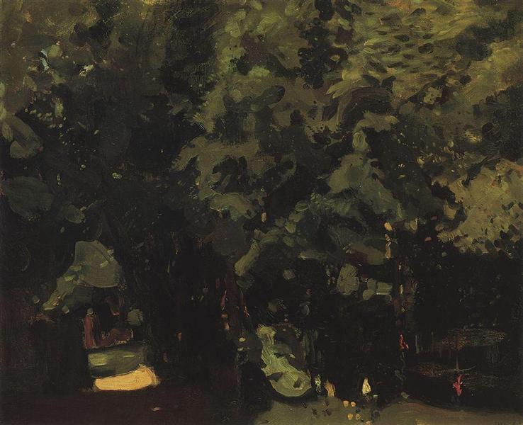 Park, 1904 - Konstantin Somov
