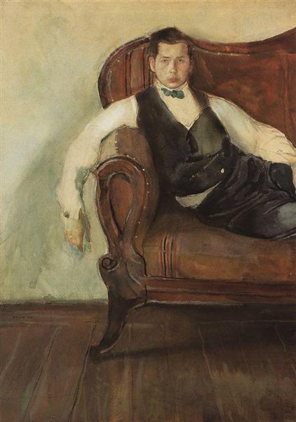 Self-Portrait, 1898 - Konstantin Somov