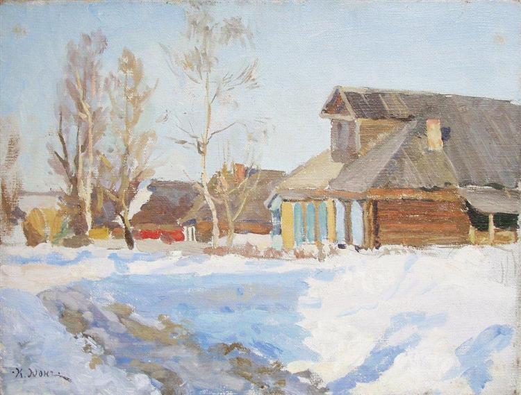 Ligachevo, 1915 - Konstantin Yuon