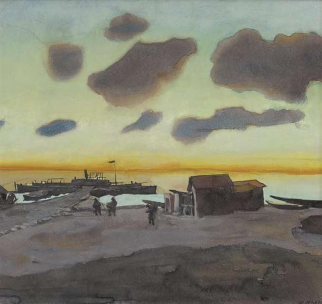Summer Sunrise - Костянтин Юон