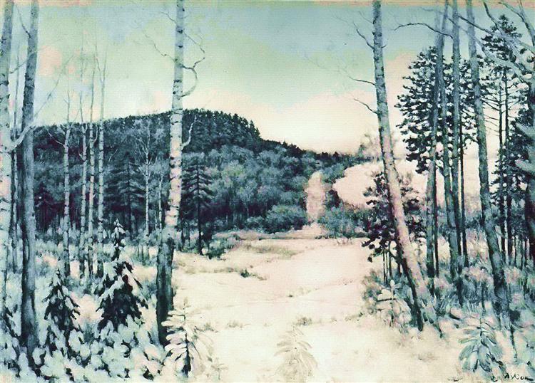 The Winter Sunrise, 1944 - Konstantin Yuon