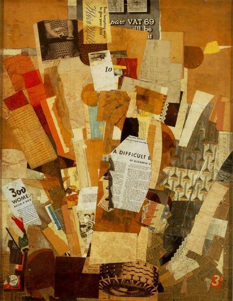 (Difficult), 1942 - 1943 - Kurt Schwitters