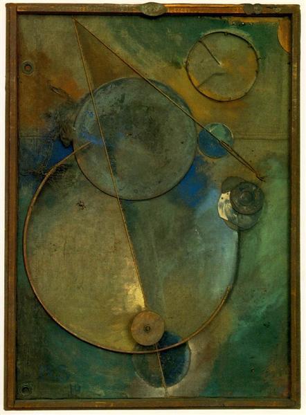 Revolving, 1919 - Kurt Schwitters