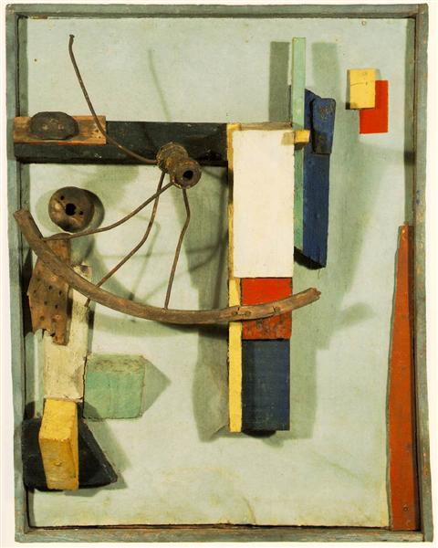 Small Sailors' Home, 1926 - Kurt Schwitters