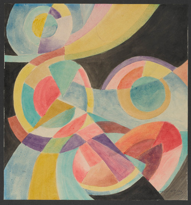 Colored Rhythm: Study for the Film - Leopold Survage