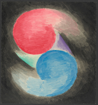 Colored Rhythm: Study for the Film, 1913 - Леопольд Сюрваж