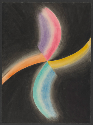 Colored Rhythm: Study for the Film, 1913 - Léopold Survage