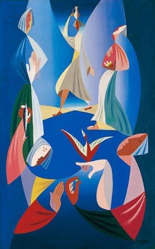 Les Porteuses d'Eau, 1939 - Leopold Survage