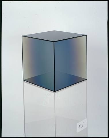 Cube #1, 2008 - Larry Bell