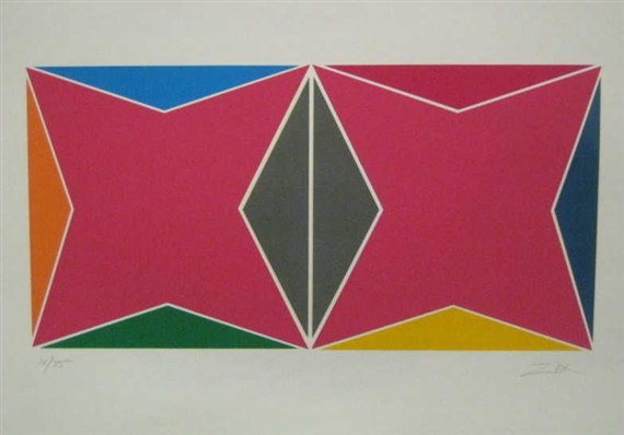 Geometric Composition - Larry Zox