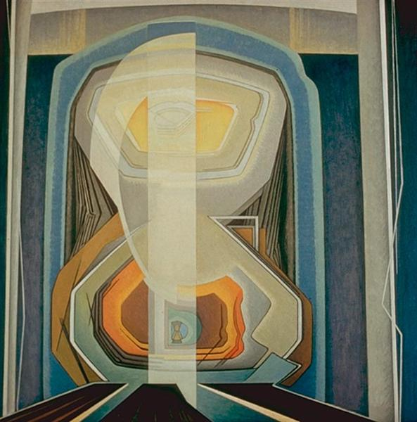 Abstract Painting #20, 1942 - Lawren Harris