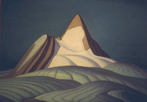 Isolation Peak, Rocky Mountains, 1930 - Lawren Harris