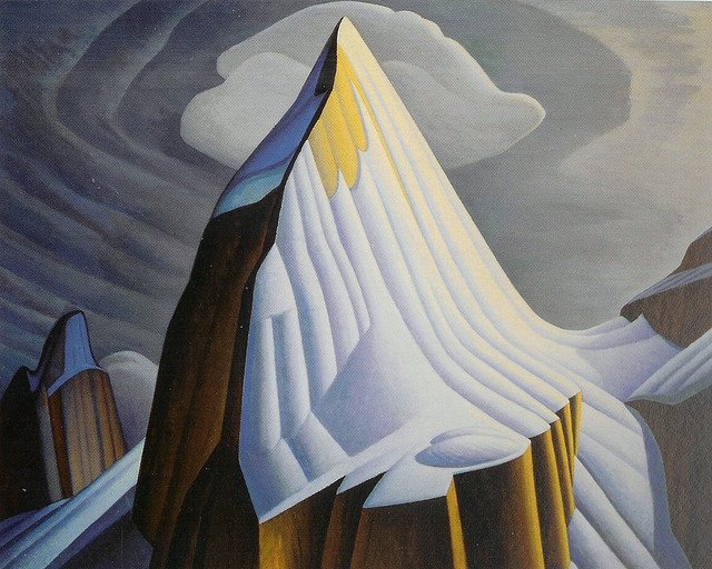 Mount Lefroy - Lawren Harris