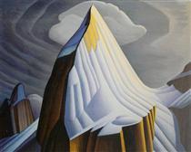 Mount Lefroy - Lawren Harris