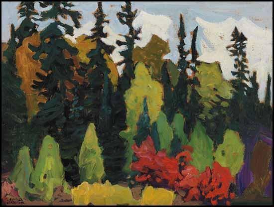 Woods, Algoma, 1918 - Lawren Harris