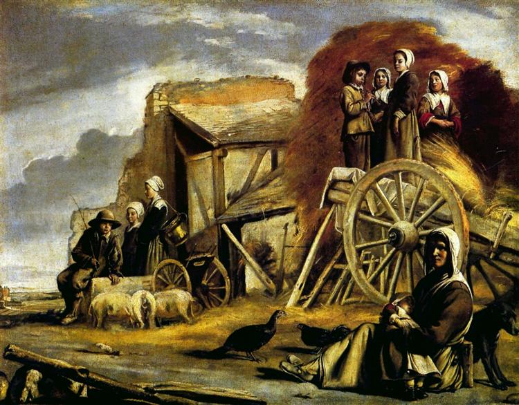The Cart, 1641 - Brüder Le Nain