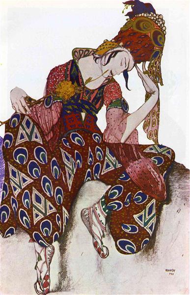 Costume Design for Nijinsky - Leon Bakst