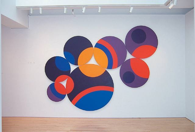 Constellation Twelve Circles, 1969 - Leon Polk Smith